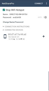 screenshot of NetShare - no-root-tethering version Varies with device