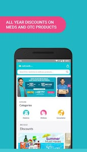 screenshot of Netmeds - India's Trusted Online Pharmacy App version 8.2.3