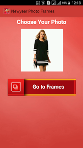 screenshot of New Year Photo Frames version 1.4