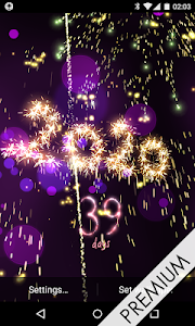 screenshot of New Year 2020 countdown version 5.0.4