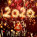 New Year 2020 countdown