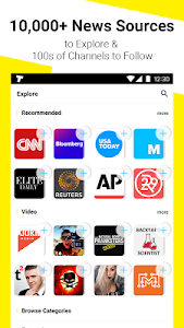 screenshot of TopBuzz: Trending Videos, Funny GIFs, Top News &TV version 3.8.9