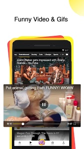 screenshot of TopBuzz - Trending News, Videos & Funny GIFs version 6.2.3