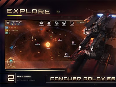 screenshot of Nova Empire version 1.8.8