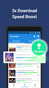 screenshot of Video Downloader Pro - Download videos fast & free version 1.02.64.1205