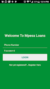 screenshot of Okoa Loans version 1.0