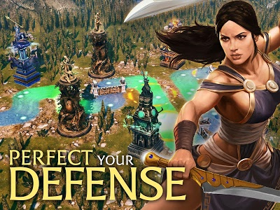 screenshot of Olympus Rising: Hero Defense and Strategy game version 5.1.2