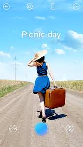 screenshot of PICNIC - photo filter for dark sky, travel apps version 3.1.0.2