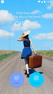 screenshot of PICNIC - photo filter for dark sky, travel apps version 3.1.1.2