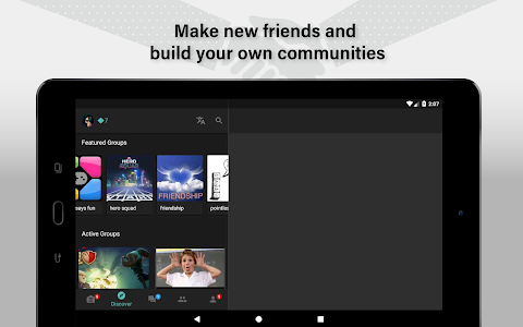 screenshot of Palringo Group Messenger - chat, play games & more version Varies with device
