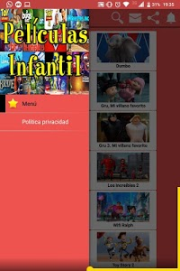 screenshot of Pelis Infantil En Español version 10.4