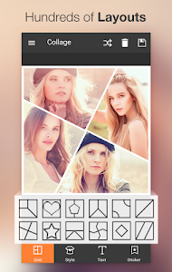 screenshot of Photo Collage Editor version Varies with device