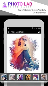 screenshot of Photo Lab-Photo Editor 2018 version 1.15