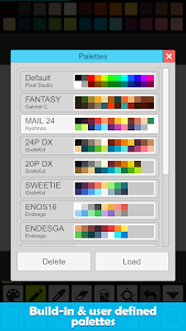 screenshot of Pixel Studio - Pixel art editor, GIF animation version 1.15