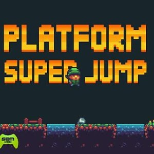 screenshot of Platform Super Jump version 1.0