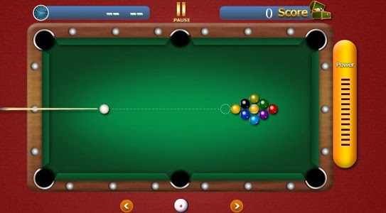screenshot of Pool Table Pro 2019 version 1.3