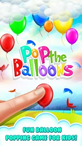 screenshot of Pop the Balloons-Baby Balloon Popping Games version 1.0