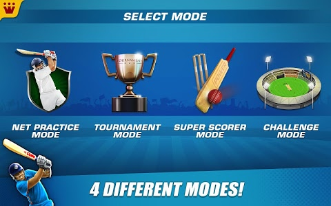 screenshot of Power Cricket T20 Cup 2019 version 2.8