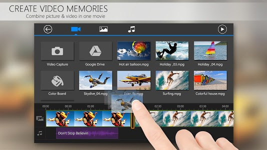screenshot of PowerDirector Video Editor App: 4K, Slow Mo & More version 4.15.0