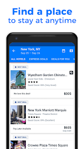 screenshot of Priceline - Hotels, Rental Cars and Cheap Flights version 4.70.203