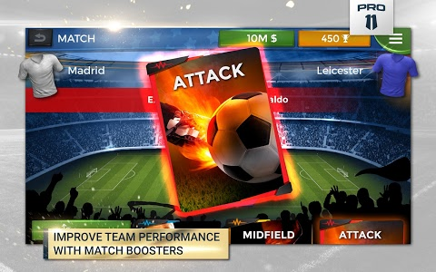 screenshot of Pro 11 - Soccer Manager Game version 1.0.53
