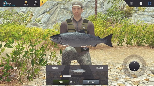 screenshot of Professional Fishing version 1.20
