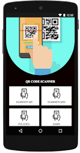 screenshot of QR Code Reader for Android Tablet version 1.0