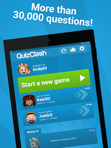 screenshot of QuizClash™ version Varies with device