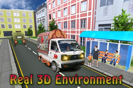 screenshot of Real Drive public transport Van Simulator version 1.0.3