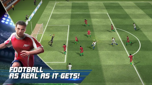 screenshot of Real Football version 1.7.0