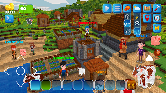 screenshot of RealmCraft with Skins Export to Minecraft version 4.2.6