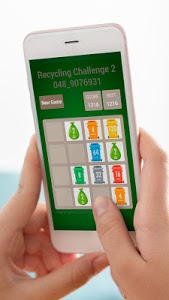 screenshot of Recycling Challenge 2048. Save the Planet version 1.2