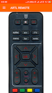 screenshot of Remote Control For Airtel version 2.0