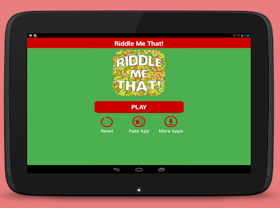 screenshot of Riddles Me That! - What am I? version 1.8