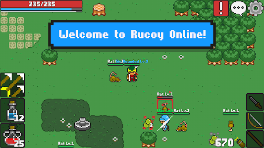 screenshot of Rucoy Online - MMORPG - MMO - RPG version 1.19.2
