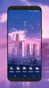 screenshot of S8-Note 8 - S9 Rounded Corners version 2.5