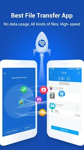 screenshot of SHAREit - Transfer & Share version 4.5.48_ww