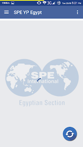 screenshot of SPE YP Egypt version 1.0
