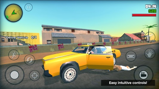 screenshot of San Andreas Crime City Auto version 1.1