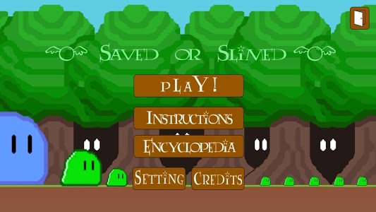 screenshot of Saved or Slimed version 1.0.3