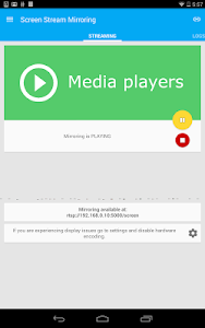 screenshot of Screen Stream Mirroring Free version Varies with device