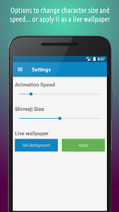 screenshot of Shimeji version 3.7