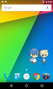 screenshot of Shimeji version 2.2