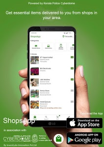 screenshot of Shops App - Buy anything from shops near you. version 0.1.56