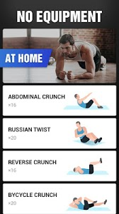screenshot of Six Pack in 30 Days - Abs Workout version 1.0.11