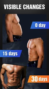 screenshot of Six Pack in 30 Days - Abs Workout version 1.0.13