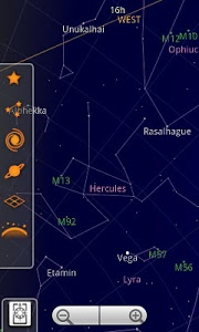 screenshot of Sky Map version Varies with device