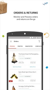 screenshot of Snapdeal Seller Zone version Varies with device
