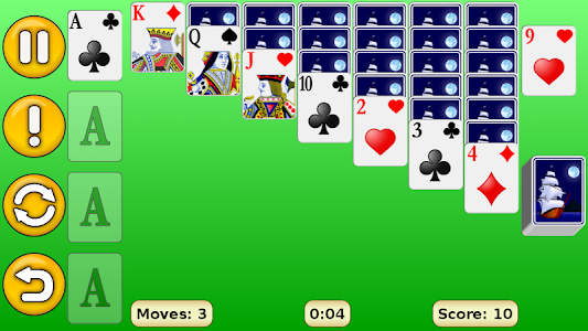 screenshot of Solitaire version 1.20