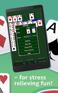 screenshot of Solitaire version 4.0.0